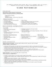 Military Veteran Resume Examples From Air Force Military Resume