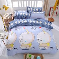 Pig Bedroom Decor Popular Pig Bedding Set Buy Cheap Pig Bedding Set Lots From China