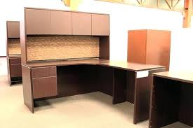 corner office furniture. Corner Office Desk With Hutch Used Source L Shaped . Furniture