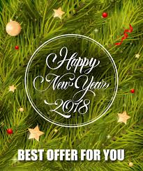 happy new year lettering in round frame free vector