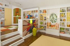 View in gallery An open playroom design allows you to keep an eye on the  kids with ease