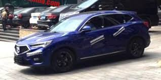 2018 acura crossover. fine crossover acura cdx prototype spied in china throughout 2018 acura crossover