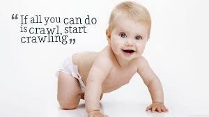 Baby Crawling Quotes Hd Desktop Wallpaper Widescreen High