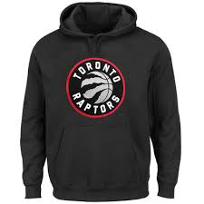 Current Patch Raptors Toronto Tech Logo Black – Pullover Hoodie Majestic