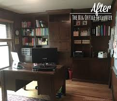 Declutter home office Space After The Big Office Declutter Kosher On Budget 31 Days Of Decluttering Home Office