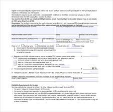 11 Rent Certificate Form Templates Sample Templates