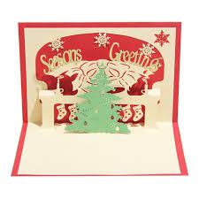 <b>100PCS Handmade</b> Christmas Tree <b>Design</b> Merry Christmas Cards ...