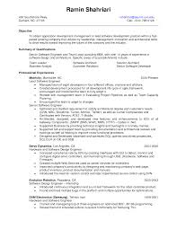 Best Resume Format For Software Developer Resume Template Software Experienced Software Engineer Resume