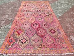 anatolia turkish antalya nomads cicim kilim 60 in by 126 in area rug