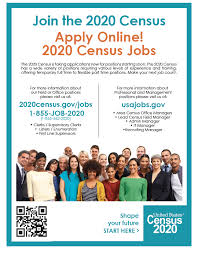 Flyer Jobs Census Job Fair August 27 1 Pm 7 Pm City Of Princeton