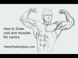 how to draw cool arms for ics basic anatomy