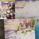 Раскраски на холсте по номерам море