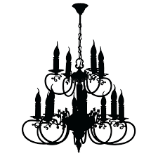 800x800 silhouette chandelier together with chandelier silhouette