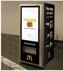 Big Mac Vending Machine Stunning Alps Kiosks McDonald's Installs Big Mac Vending Machine Alps Kiosks