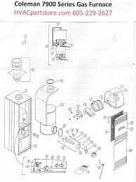 7975 856 coleman gas furnace parts hvacpartstore click here to view a manual for the coleman 7975 856 which includes wiring diagrams