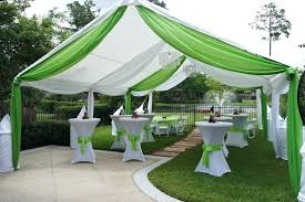 outdoor party decoration ideas green and white themed fabulous decorating idea for bridal shower night outdoor party decoration ideas