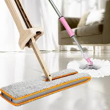 ishowtienda double sided non hand washing flat mop wooden floor mop dust push mop cleaning tool