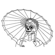 Small Picture Top 15 Skull Coloring Pages For Your Little One