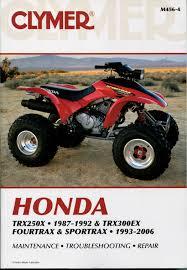 research claynes m honda trx ex sporttrax fourtrax 4564 4564b 4564p