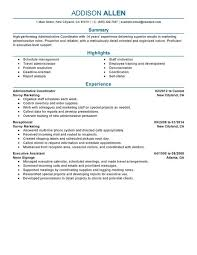 Project Coordinator Resume Samples Awesome Unfor Table Custom Project Coordinator Resume