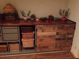 pallet wood cabinet doors diy
