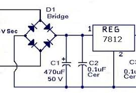 can i convert 230v ac to 12v dc by a resistor diode if can what 12vdc reg png