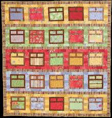 Quilt Inspiration: Free pattern day! House quilts | Patchwork ... & Quilt Inspiration: Free pattern day! House quilts Adamdwight.com