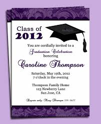 Formal College Graduation Announcements Samples Of Graduation Invitations Magdalene Project Org