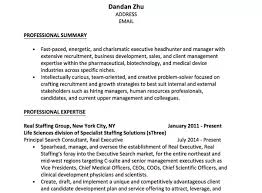 Objective Summary For Resumes What Is A Good Example Of A Strong Professional Objective On