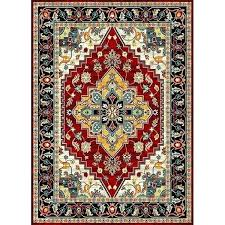 market anti bacterial red yellow black indoor outdoor area rug and rugs blue gold within green