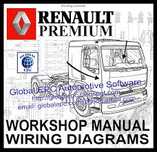 renault premium workshop service manuals and wiring diagrams renault truck fault codes list at Renault Midlum Wiring Diagram