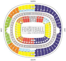 Wembley Stadium Nfl Seating Chart Wembley Stadium England National Team Football Tripper