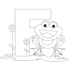 letter f coloring pages to and print for free in coloring page