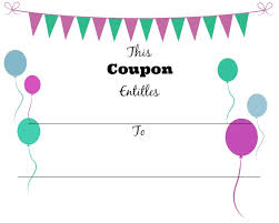 Make A Printable Coupon 28 Images Of Make Your Own Coupon Template Leseriail Com