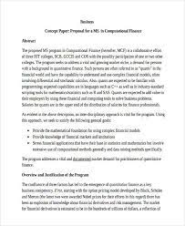 (pdf) how to write a concept paper with. Sample Of A Business Concept Paper Example Of A Product Concept Statement