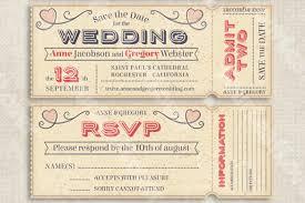 Invitation Ticket Template Wedding Invitation Ticket Template uc100 79