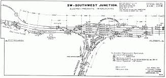Prr Track Charts Updates To The Prr Southwest Branch First Dwarf Signal Lit