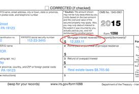 Mortgage Statement Template Excel Form 1098 Box 10 Ohye Mcpgroup Co