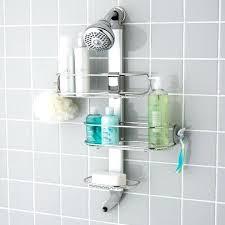 posh bathroom shower caddy the best shower organizers bathroom shower caddy rust proof