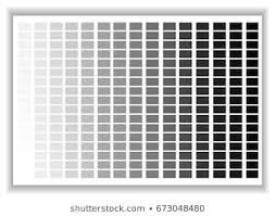 Black Colour Chart Paper Gray Color Paper Stock Vectors Images Vector Art