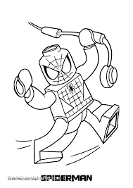 Coloring Book Spiderman Bloomind Co