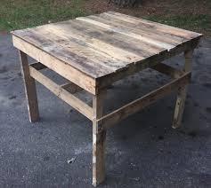 pallet patio coffee table potting wood de