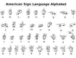 Sign Language Chart Printable Printable American Sign Language Charts Loving Printable