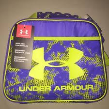 under armour lunch box. girls under armour insulated lunch box purple nwt -