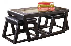 Our furniture, home decor and accessories collections feature round nesting coffee table in quality materials and classic styles. Coffee Table With Stools Underneath Ideas On Foter
