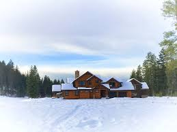 house sky path winter vacation