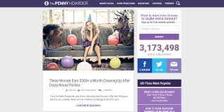 online resources that can make your life better the pennyhoarder is a site that compiles inspiring money stories and practical tips about how to earn and save they provide information on a variety of