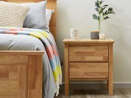 bedroom furniture bedside tables. Hardwood Bedside Tables With Natural Timber Stain Modern Bedroom Furniture Melbourne E