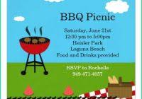 55 Free Bbq Invitation Template Word All Templates