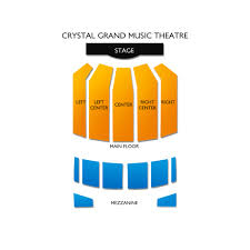 Crystal Grand Music Theatre Tickets